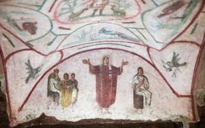 Catacomb Fresco